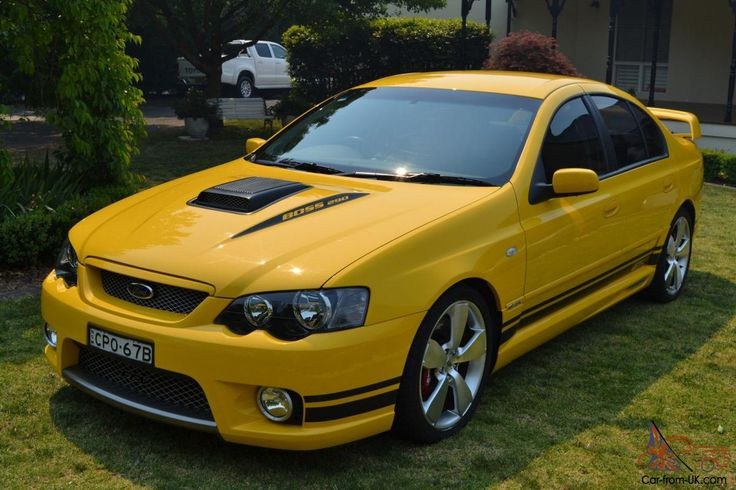 2005 BA Ford Falcon GT Australia. F'k'n love these cars. Meanest, modern looking Falcon GT ever built. Only thing nicer in my eyes is the White and Blue styling of the Ltd Ed Cobra that was made in 2007..