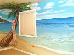 10 best beach mural images on Pinterest   Beach mural, Mural ideas ...