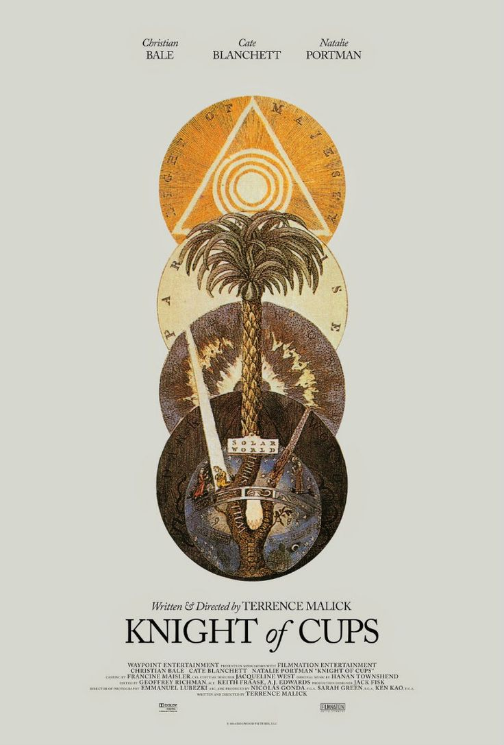 KNIGHT OF CUPS   http://www.themoviewaffler.com/2016/04/new-release-review-knight-of-cups.html