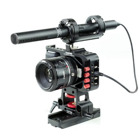 CAMTREE HUNT Mod Cage For Blackmagic Pocket Camera  http://www.thecinecity.com/eshop/CAMTREE-HUNT-Mod-Cage-For-Blackmagic-Pocket-Camera.html