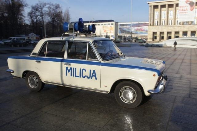 Milicja, Stan Wojenny, PRL,