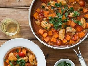 Zoe-Bingley-Pullin-Irish-Chicken-Sweet-Potato-Cherry-Tomato-Hot-Pot-Recipe - Zoe's Irish Chicken, Sweet Potato and Cherry Tomato Hot Pot - Yahoo New Zealand Food