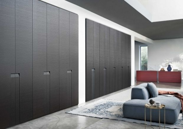 Wohnideen Moderne Praktische Raumgestaltung Einbau Schrank Aus Holz