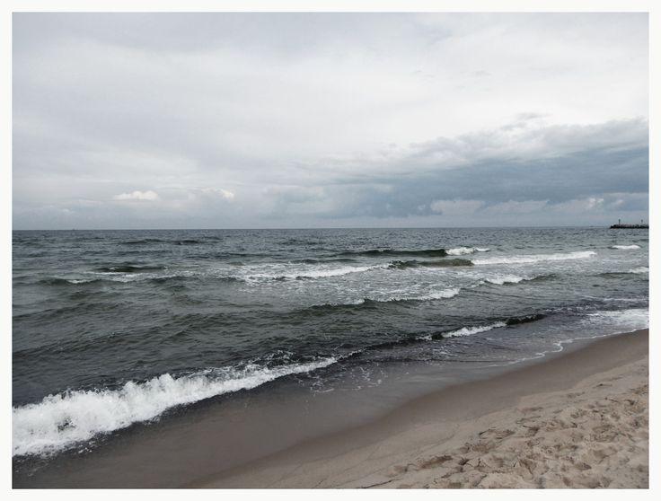 Baltic sea in September, spooky beauty!