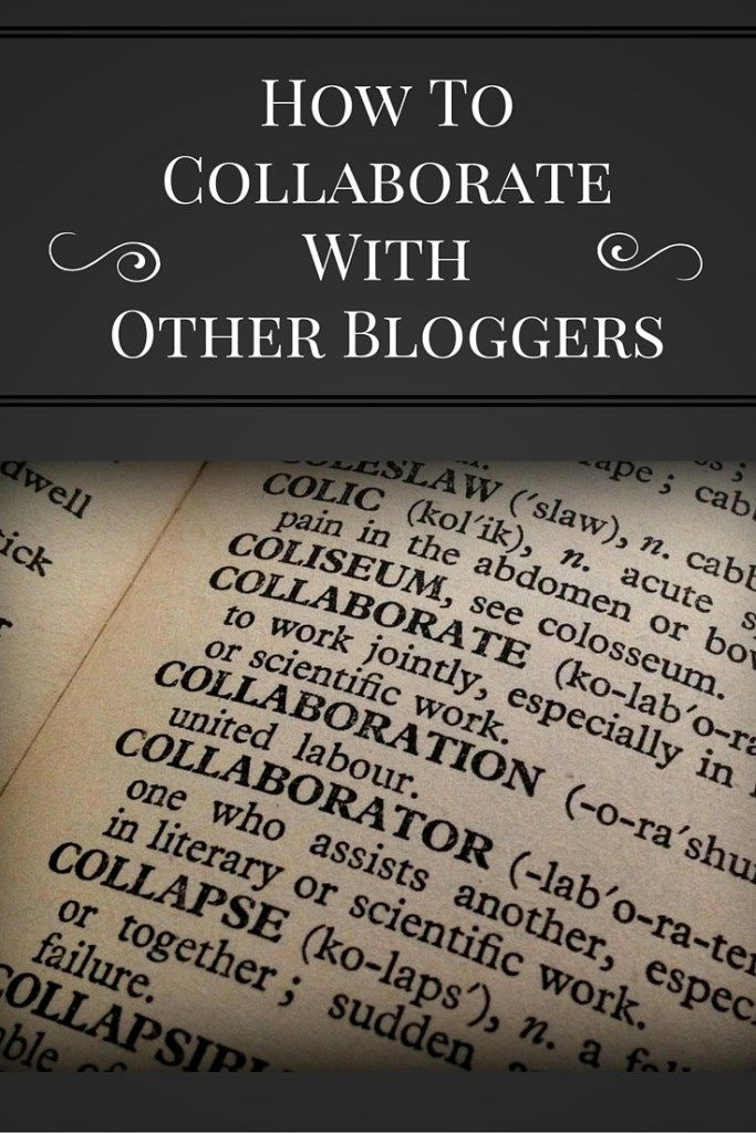collaborate with bloggers