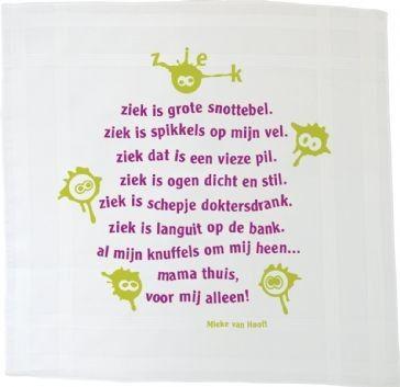 Ziek - Mieke van Hooft