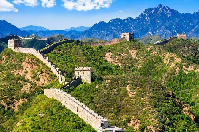 Чудо света. Великая китайская стена.