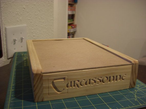 Carcassonne Custom Game Box