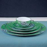 Found it at Wayfair - Chinoiserie Green Dinnerware Collection