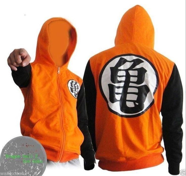 Dragon ball Z Son Goku Clothing Hooded Sweatshirt Anime Cosplay Hoodie #NEW #JacketsCoatsCloaks