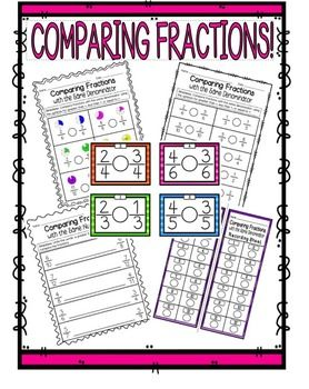 comparing fractions with like numerators and denominators worksheet comparing fractions with. Black Bedroom Furniture Sets. Home Design Ideas