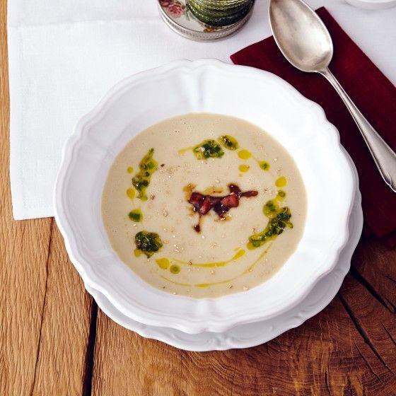 ESSEN & TRINKEN - Cremige Maronen-Kartoffel-Suppe Rezept