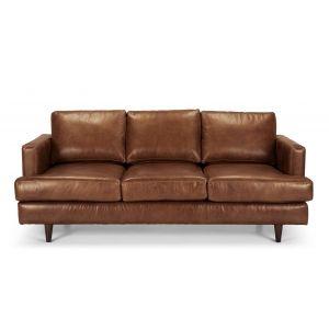made.com leather sofa