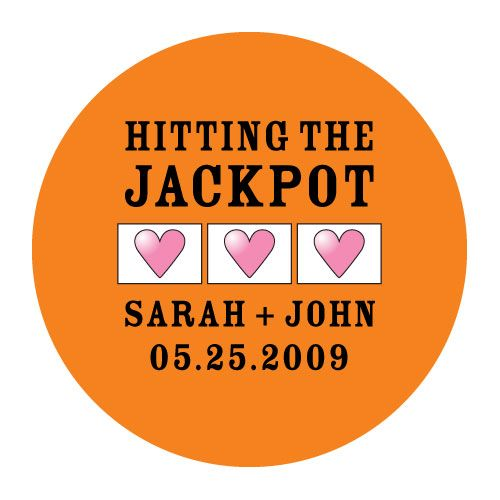 hitting the jackpot stickers for laptops