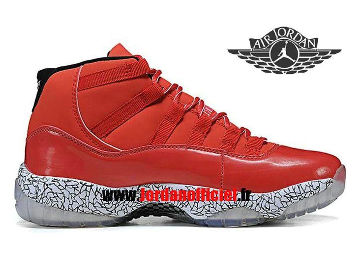 Air Jordan 11 Retro - Chaussures Baskets Offciel Pas Cher Pour Homme Rouge/Blanc-Basket Jordans Officiel Site (FR)-JordanOfficiel.FR Distributeur en France. Commandez Vite Baskets Jordan en ligne. Inclure les Jordan Homme/Femme/Enfant etc.