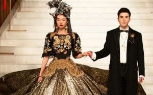 Looks from Dolce & Gabbana's Alta Moda and Alta Sartoria show at The Peninsula in Beijing. Photo: Instagram