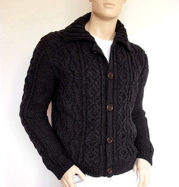 Arm Knitting Cardigan : Best hand knitted mens cardigans images on pinterest