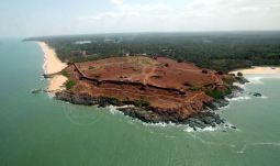 Bekal Fort-arial view