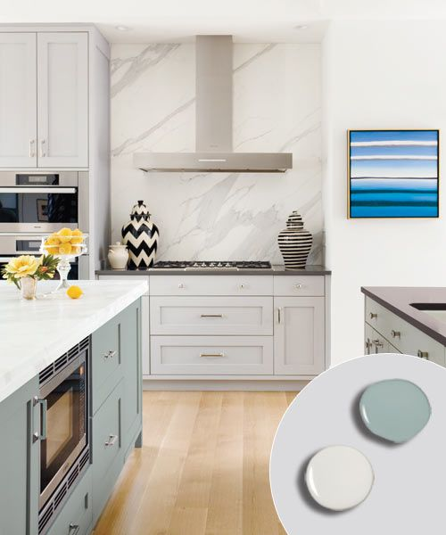 Favorite 22 Kitchen Cabinets And Flooring Combinations: 12 Kitchen Cabinet Color Combos That Really Cook