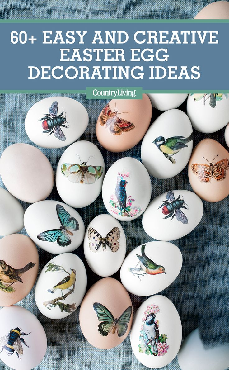 Hatch a new design scheme this year with Easter egg decorating ideas that will put a fun, fresh spin on all of your Easter festivities. #easter #easterdecor #easterdecorating #eastereggdecorating #eastereggs