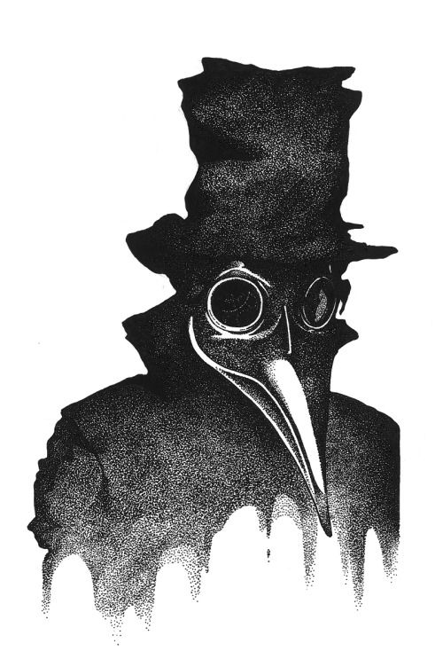 plague doctor tattoo | Tumblr