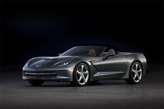 Mid-life crisis? New Corvette convertible unveiled (Photo: General Motors)