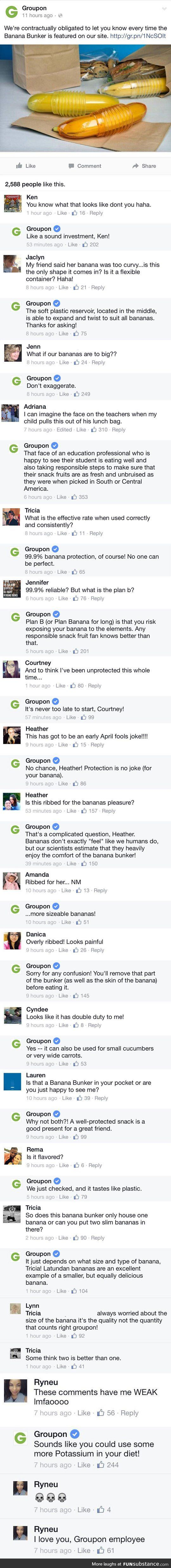 Groupon employee ftw