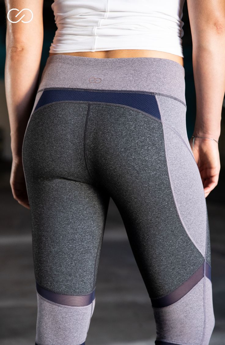 6bb5e748f209a1 Be comfortable and stylish at your next workout in the CALIA™ by Carrie  Underwood Women's Essential Heather 7/8 Leggings. Stretchy Califlex fabric  with ...
