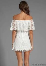 vestidos de encaje blanco - Buscar con Google