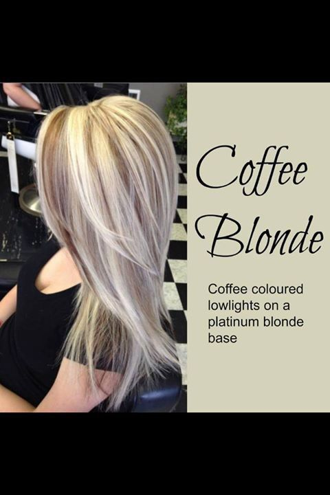 Coffee blonde | Fab Hair Ideas! | Pinterest | Blondes and ...