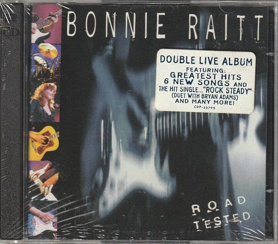 Bonnie Raitt 1995 Road Tested Original 2 CD Set Still Sealed