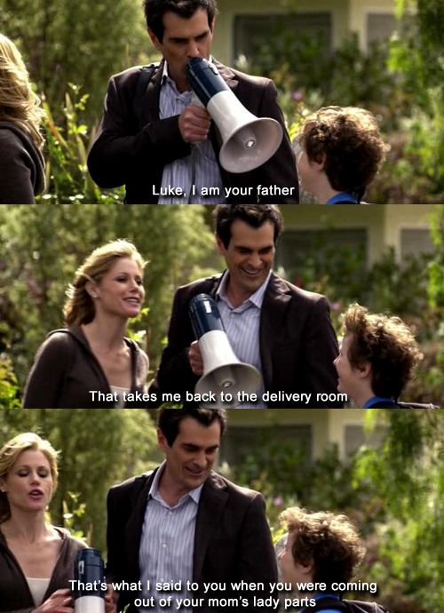<3 Modern Family! Phil Dunphy is a legend! :)