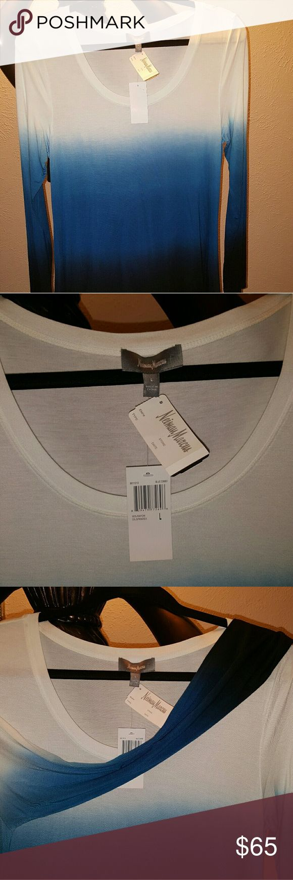 LAST CALL SALE Neiman Marcus Neiman Marcus Size L top for ladies,  new with a tag. Nieman Marcus   Tops