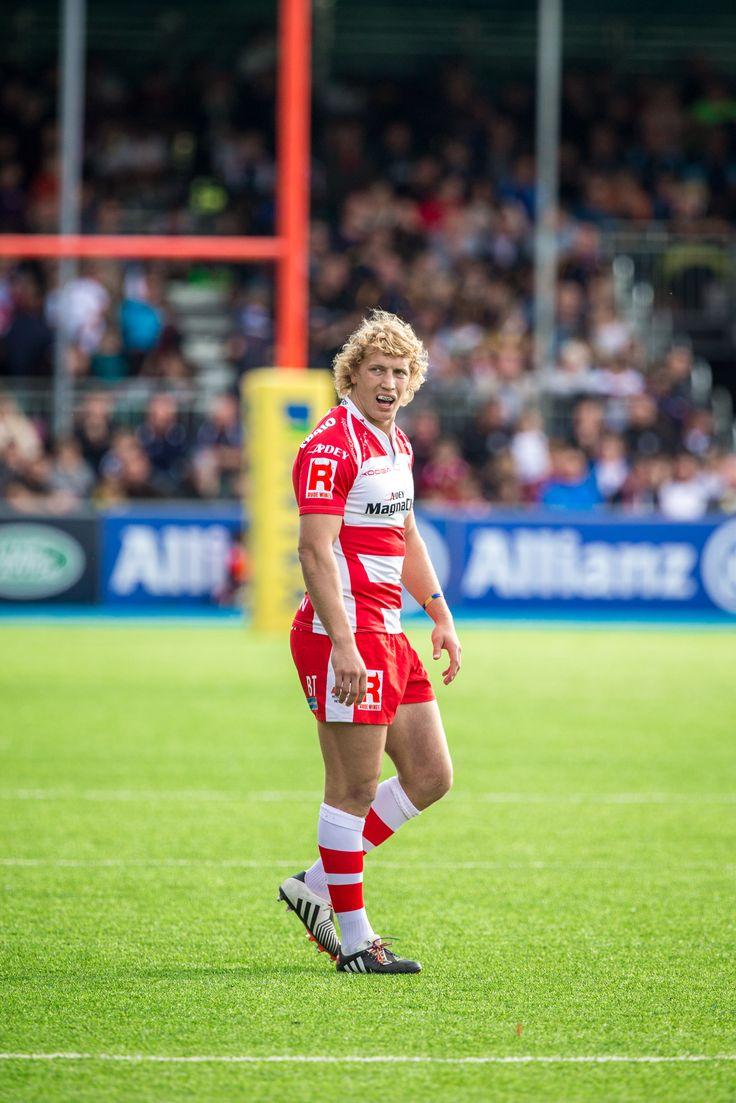 Aviva Premiership Rugby 2014 | Gloucester Rugby | Billy Twelvetrees | by Georgie Kerr