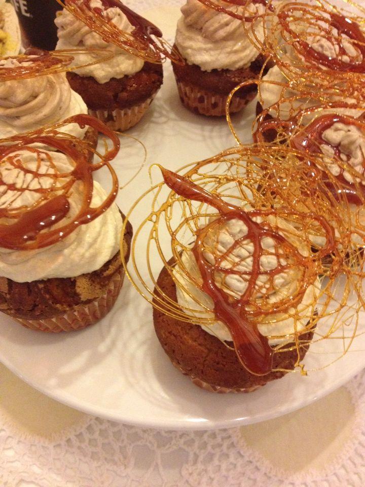 Mocca caramel cupcakes