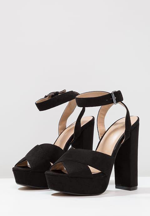 Tata Italia Sandaler med høye hæler - black - Zalando.no