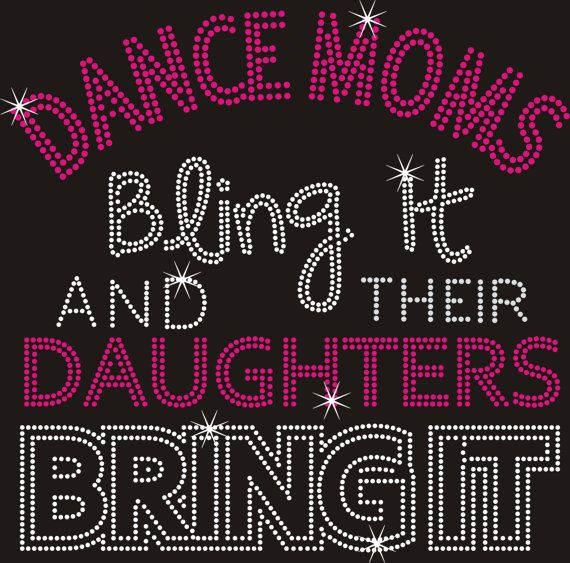 Arizona Rhinestone Dance Moms Transfer Ironon by ArizonaRhinestone, $14.99