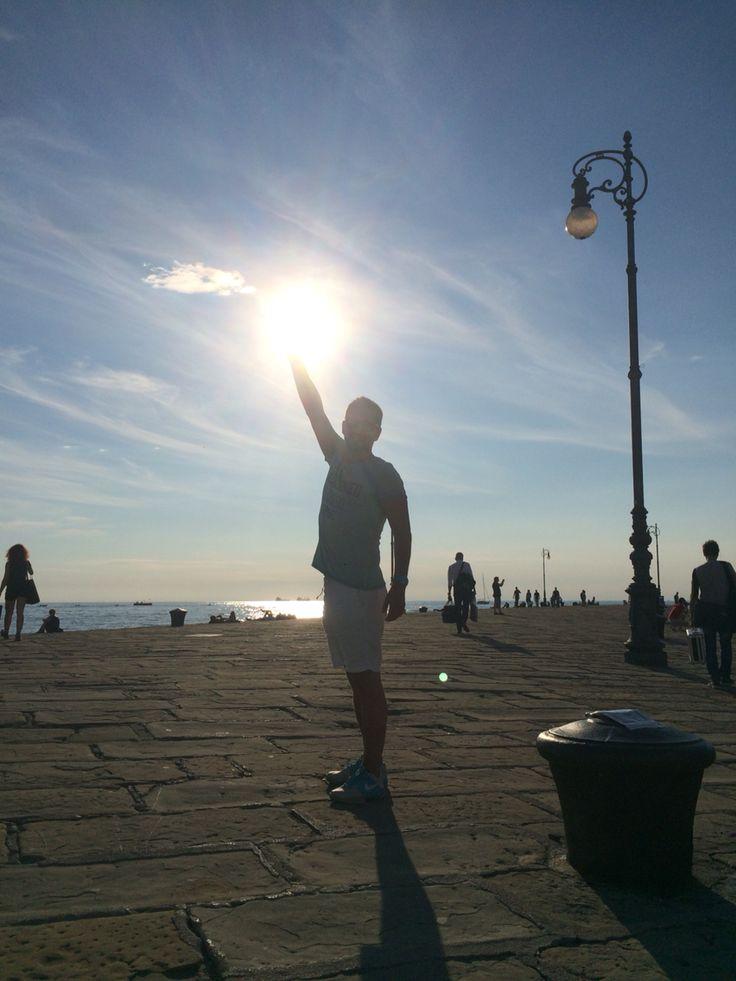 Amikor kézen fog a nap :)