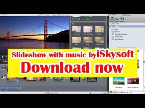Slideshow with music by iSkysoft 2017 | Slideshow | music | iSkysoft