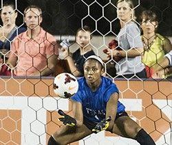 Abby Smith, All American goalie ... and team-leading goal-scorer?