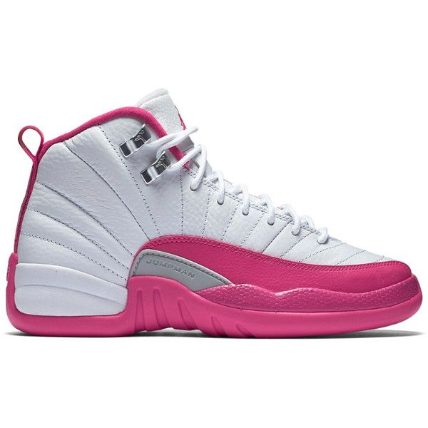"""Air Jordan 12 Retro GG """"Valentine's Day"""" ❤ liked on Polyvore featuring s h o e s and shoes"""