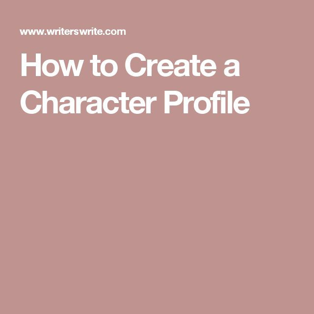 Best 25+ Character profile ideas on Pinterest Character - profile writing