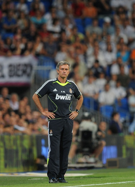 Jose Mourinho Photo - Real Madrid v Penarol - Santiago Bernabeu Trophy