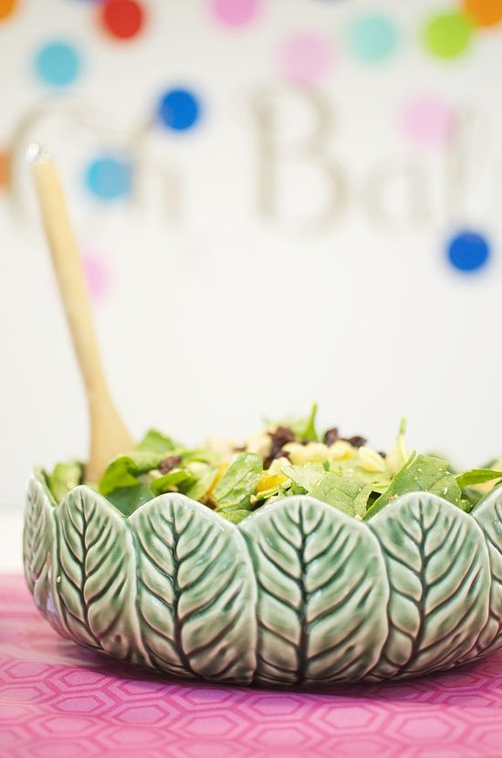 pottery project - salad bowl: