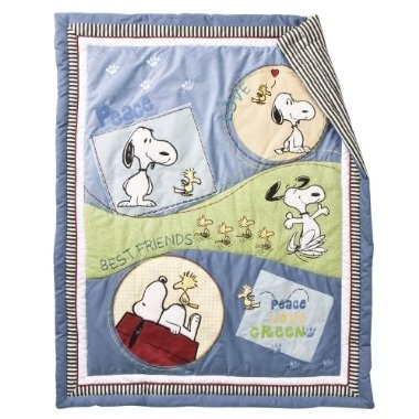 Snoopy decorations maybe? if baby is boy. I love love love Snoopy.