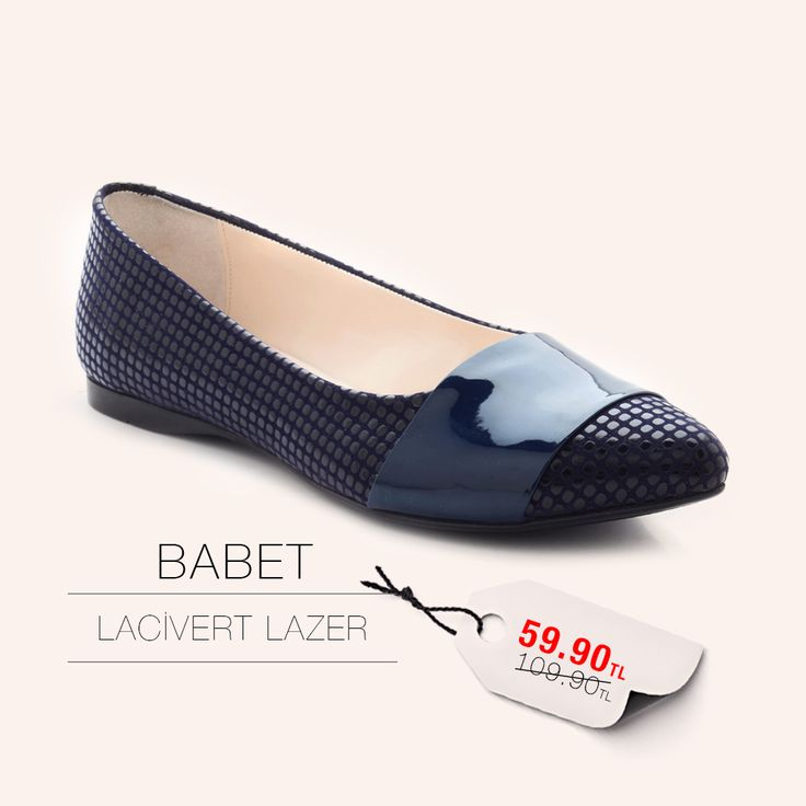 Lacivert Lazer Babet 59.90TL http://www.modsimo.com/phcg~u~lacivert-lazer-babet-oxford-bayan-ayakkabi