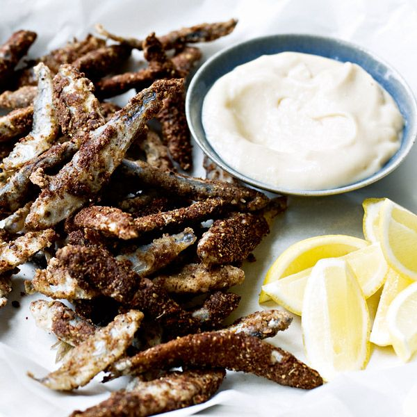 This crispy whitebait recipe is the perfect starter to serve at your next dinner party.