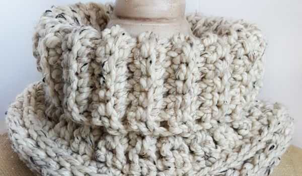 The Cara Cowl Crochet Pattern