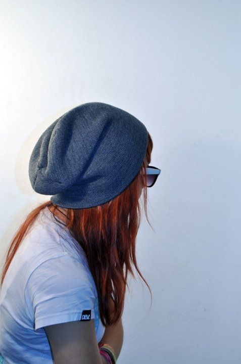 Long hair don't care hipster indie tumblr girl beanie | H ...
