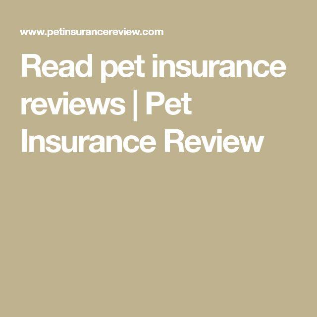 Read pet insurance reviews   Pet Insurance Review